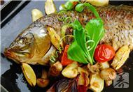 家用电烤箱烤鱼的做法