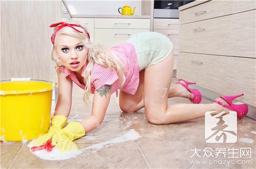 做家务也可让你拥有魔鬼身材
