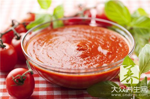 番茄酱炒年糕的做法