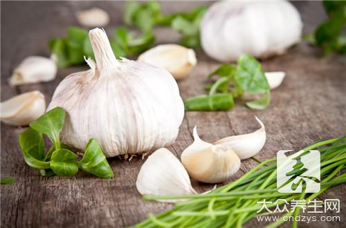 Eat the garlic that thoroughly cook to have what profit