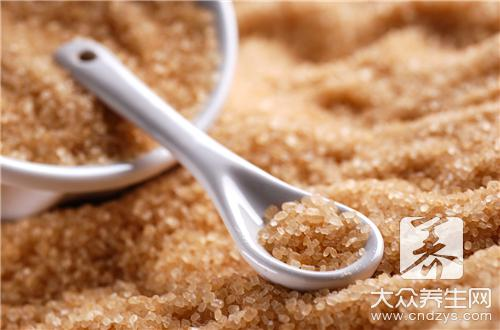 What person does not suit to eat brown sugar