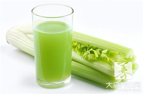 What does the practice that fries celery have?