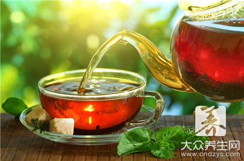 Drink fleck of rose tea purify effective?