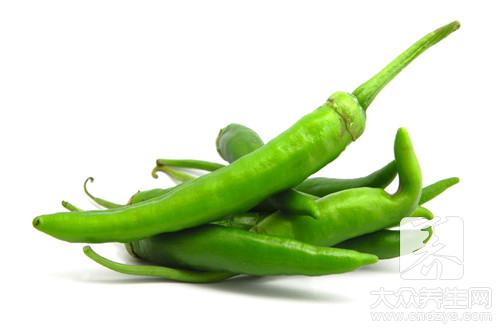 What does green pepper fry the practice of the egg to have?