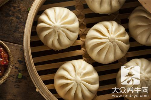 The practice oven of the steamed stuffed bun that bake