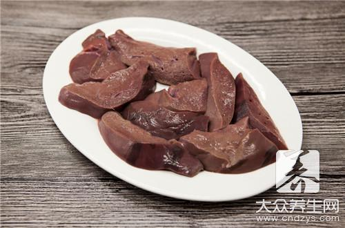 Is scald water used before pork liver is fried