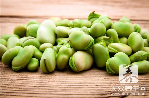 What person does not suit to eat broad bean