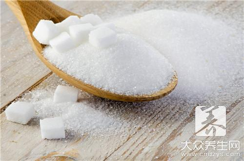 White sugar cannot eat together with what