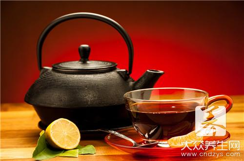 How to turn black tea result reducing weight