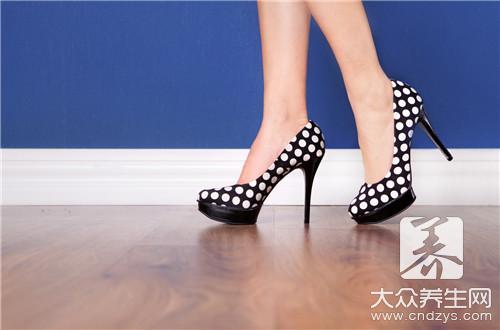 """美丽高跟鞋背后的巨大""""陷阱""""——大众养生网"""