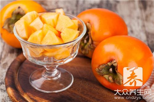 What to eat persimmon contraindication to have?