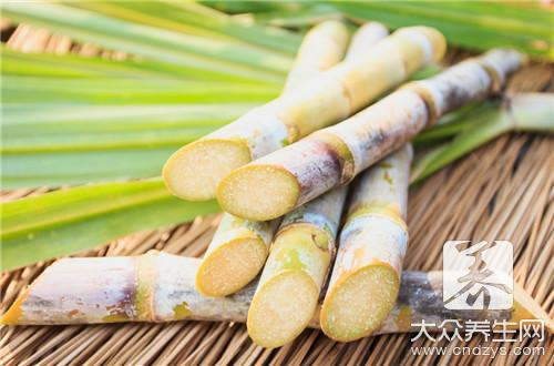 What person does not suit to eat sugar cane