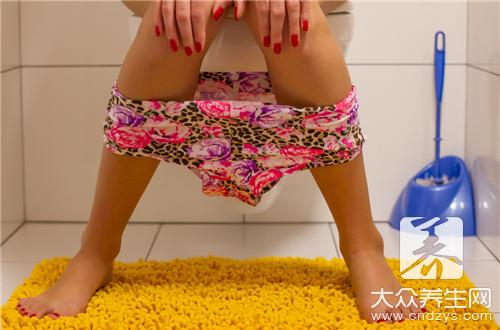 What motion is helpful for constipation