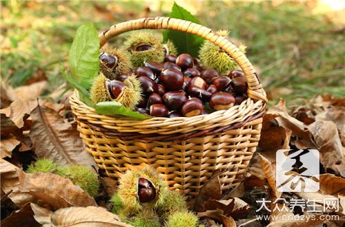 How does oven bake Chinese chestnut