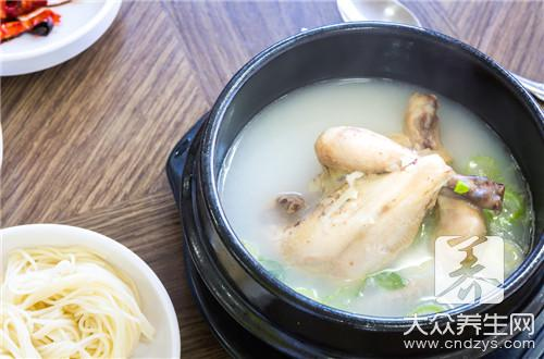 Chicken broth works the way of bean curd, such doing had better eat