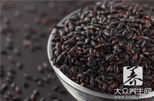 Does black rice zhongzi have nutrition? What does its effect have?