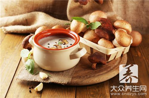 Xianggu mushroom of chop of boiled in clear soup a simple way