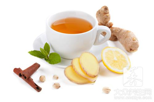 Can female dysmenorrhoea drink ginger soup brown sugar