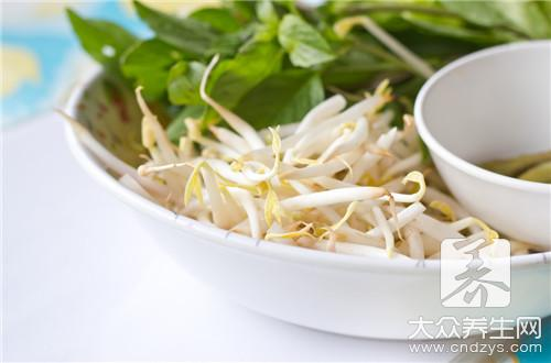 The practice of cold and dressed with sause of bean sprouts of acupuncture needle stay of proceedings