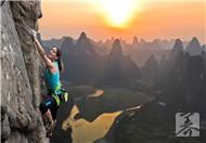 攀岩虽危险,却有意想不到的好处
