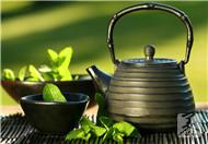 螃蟹和绿茶