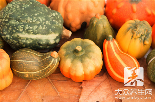 Drink Chinese traditional medicine to be able to eat pumpkin