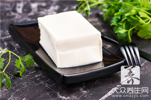 Eat bean curd to rise blood sugar?