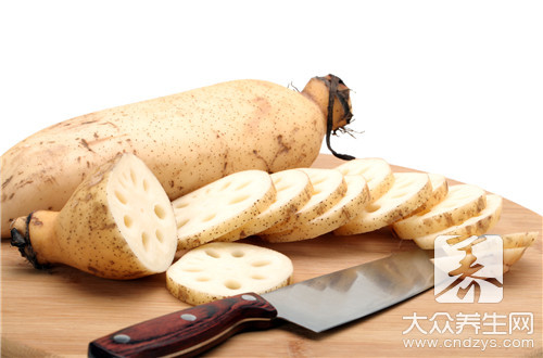 Can lactation take lotus lotus root