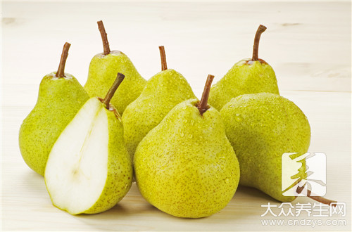 Can pregnant woman eat a kind of pear grown in Hebei Province?