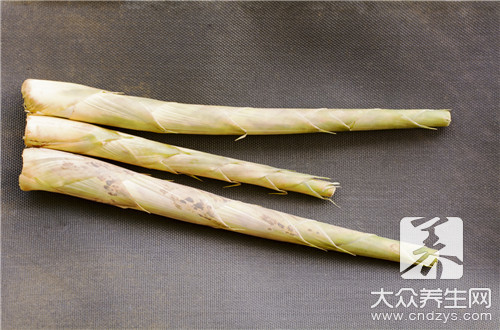 The fastest bubble of dried bamboo shoots sends a method what to have
