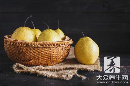 减肥期间吃什么最容易瘦,梨子减肥