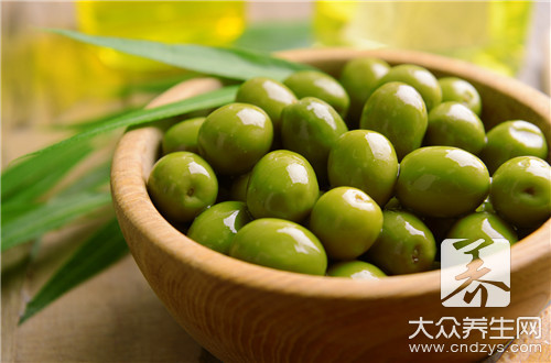 What are Chinese olive and the distinction of areca?