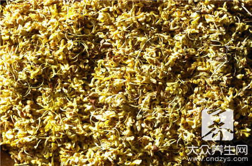 What does sweet-scented osmanthus bowel?