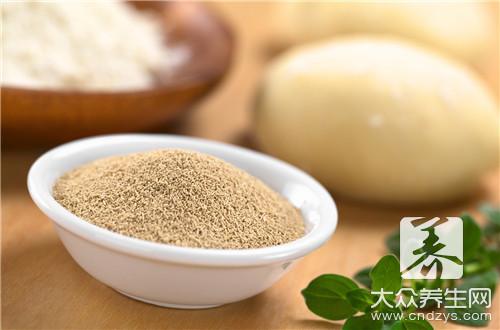 Of natural yeast make