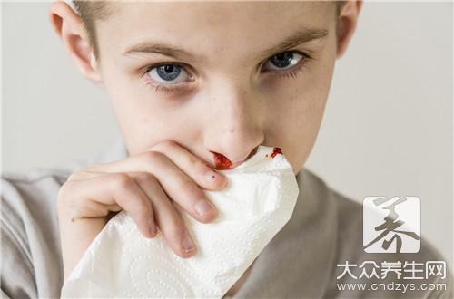 鼻子帶血有濃鼻涕是怎么回事