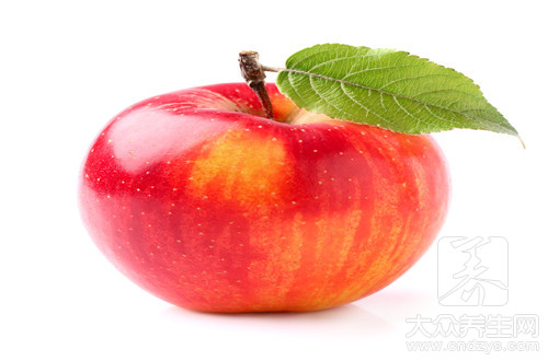 Eat an apple to be able to reduce weight in the morning