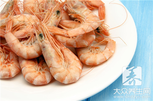 Is there macula to still can eat on shrimp body