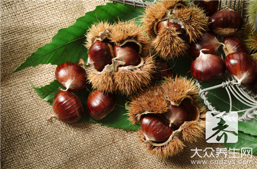 How to do Chinese chestnut cake to just had better eat?
