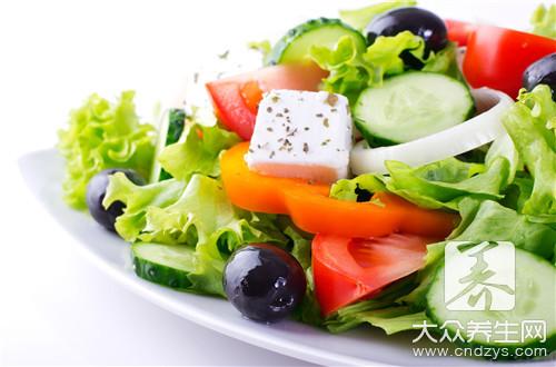蔬菜沙拉要哪些蔬菜?