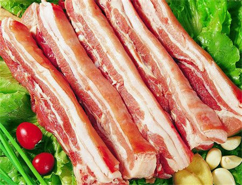 Be pregnant can eat steaky pork