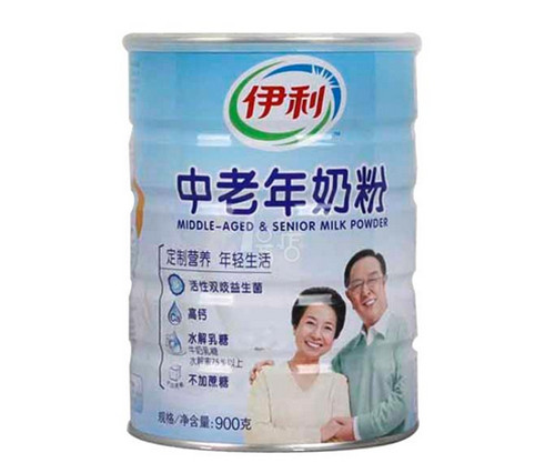 It is OK to be pregnant milk powder of the old age in eating