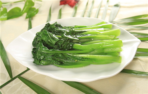 Be pregnant can eat green vegetables
