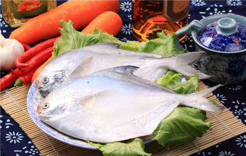 Be pregnant can eat pomfret